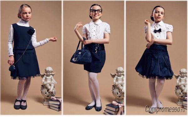 С чем можно одеть юбку в школу