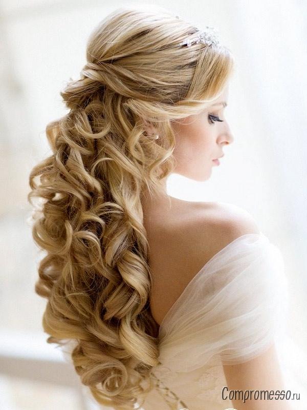 На длинные волосы прически