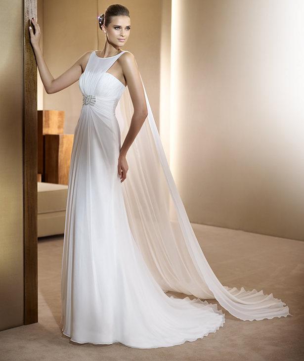 Фото невесты длинные платья