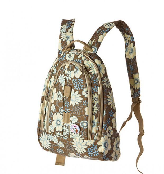 Некоторые модели обладают только одной лямкой.  По объему женский рюкзак обычно меньше мужского, его объем, как.